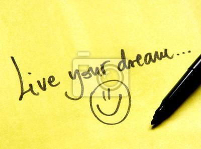 Avez-vous un rêve?