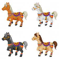 Les quatre chevaux!