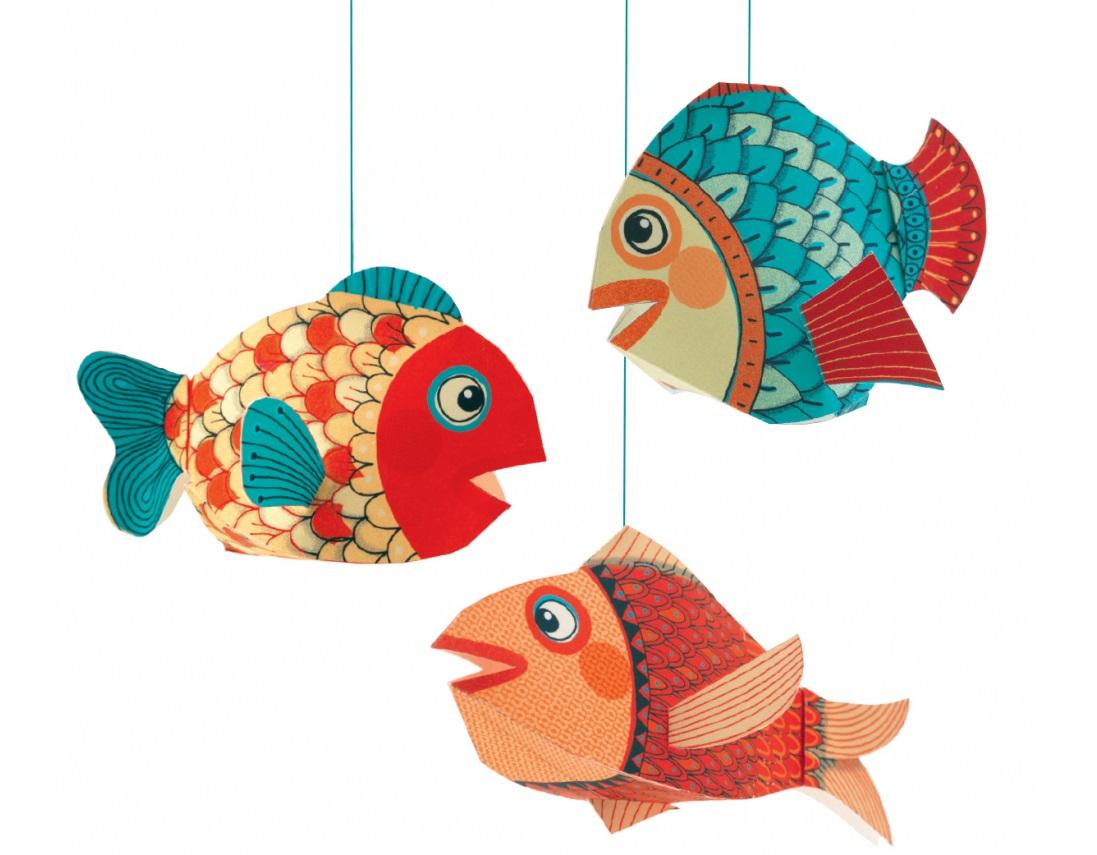 Les trois poissons!