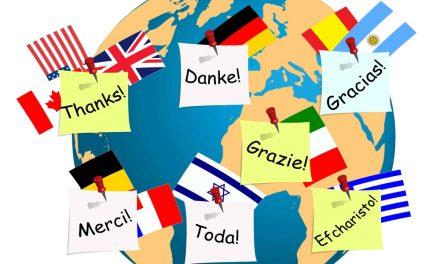 pendant le confinement, on peut aussi décider d'apprendre une langue étrangère!